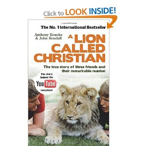 John Rendall signed copy of A Lion Called Christian
