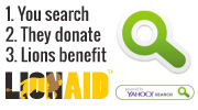 Donate For Free - You Search - Yahoo Donates - Lions Benefit!