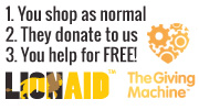 The Giving Machine - You Shop and They Donate!