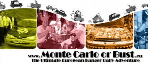 Join us at the Monte Carlo or Bust Banger Rally