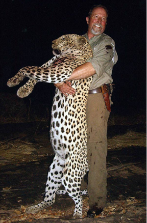 Leopard trophy hunting - anyone paying attention to the elusive and silent large cat?