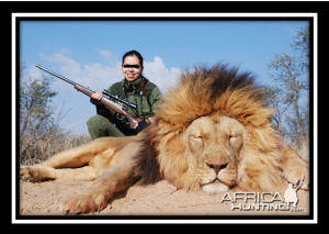 Lion trophy hunting - cost/benefit wins over ethics