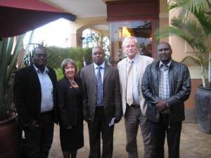 Meeting with the Governor of the County Government of Kajiado in Kenya