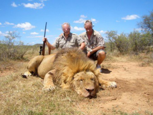 Namibia lion trophy hunting - a shallow report in The Atlantic Magazine