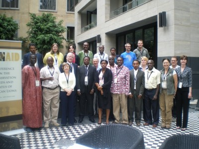 The LionAid Conference on the conservation needs and status of African lions - Action Plans